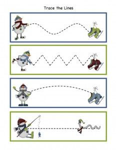 free winter trace line worksheet for kids (7)