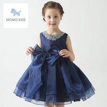 2016 elegante Vestido de princesa Floral crianças Vestido de menina para vestidos de festa de casamento menina do Vestido do bebê infantil(China (Mainland))
