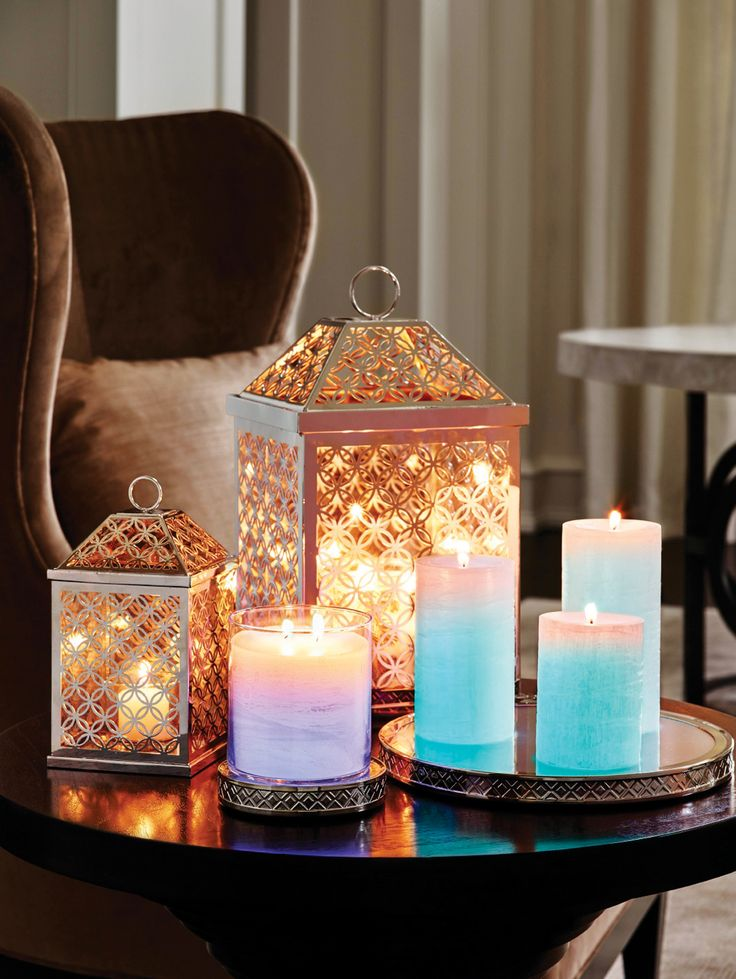 Add some drama with an infinite amount of glow – the World's Brightest Candle – GloLite, cycles through a rainbow of colours with our Colour Changing Tray and Bases and the Infinite Circles collection reflects and shimmers beautifully. www.partylite.com.au