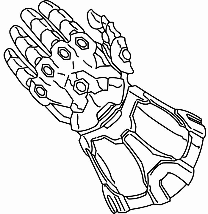 Infinity Gauntlet Coloring Page Lovely Beautiful Marvel Avengers Infinity War Thanos Colorin Avengers Coloring Pages Superhero Coloring Pages Avengers Coloring