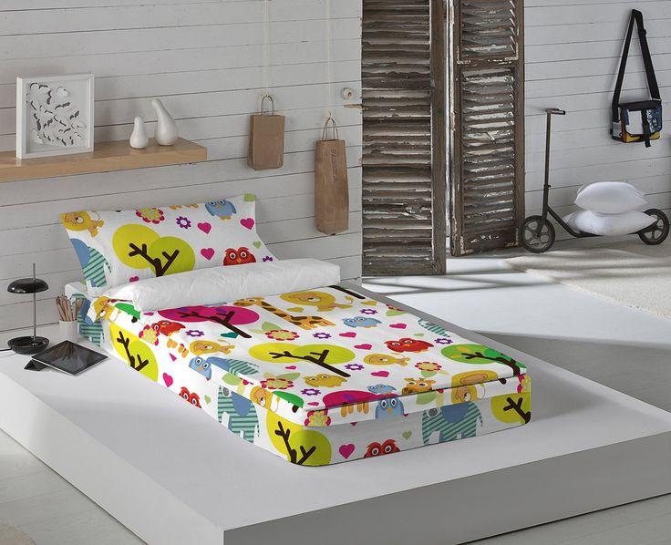 Euromoda Saco Nórdico Con Relleno DYR Multicolor Cama 90 (90 x 190/200 cm): Amazon.es: Hogar