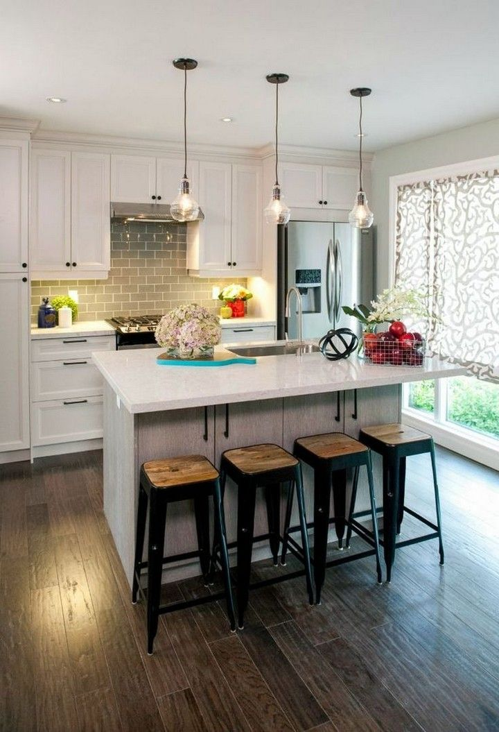 40 Of The Most Gorgeous Kitchen Design Ideas On Pinterest Kitchen Renovation Design Kitchen Remodel Small Kitchen Remodel Design