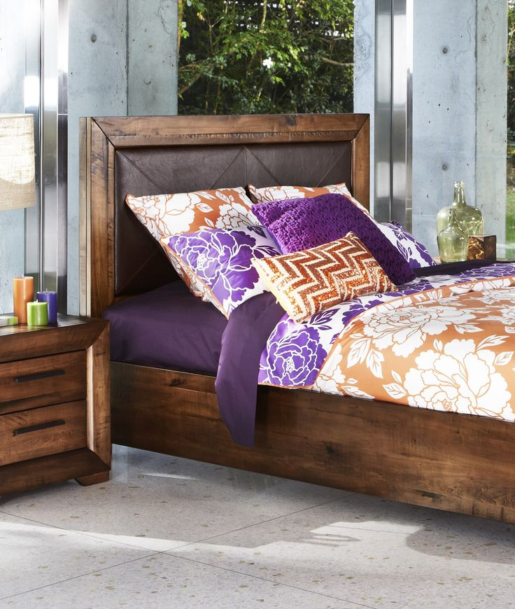 A dash of exotic charm is easy with this Aspen bedroom suite. Available in a King or Queen bed, with matching bedside tables and tallboy. Also the choice of a dresser with mirror or compact dresser, exclusively from Bedshed.