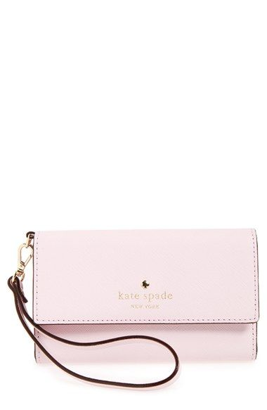 Free shipping and returns on kate spade new york 'cedar street' iPhone 6 leather wristlet at Nordstrom.com. Durable Saffiano leather shapes a slim wristlet designed to secure your smartphone, cash, cards and ID—everything you need to go from day to evening in style.