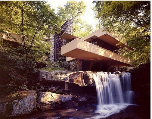 Falling Water house... seriously, genius and my dream home