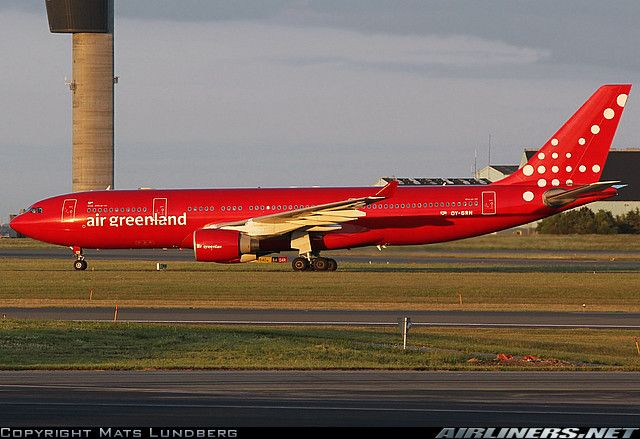 Air Greenland Airbus A330-223 aircraft picture | Liveries ...