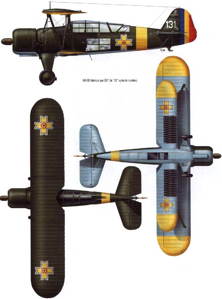 IAR 37 - Romanian light bomber.