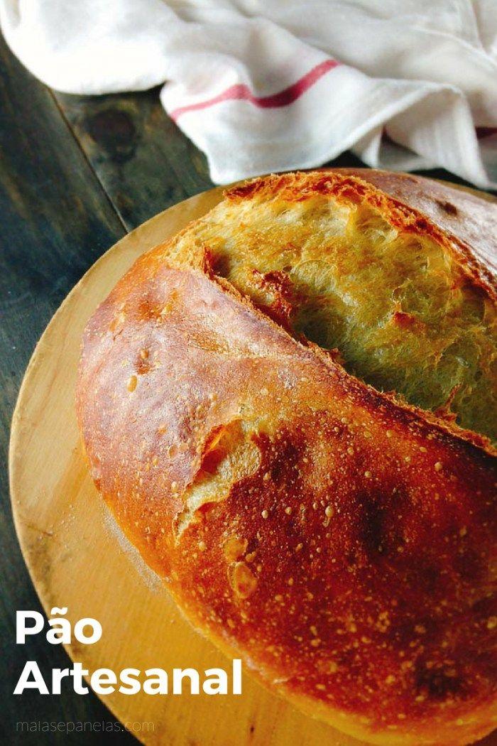Pão Artesanal   Malas e Panelas