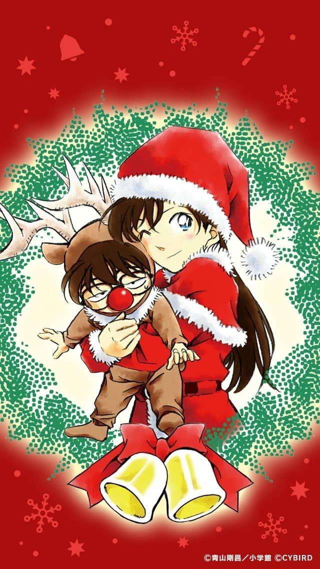 Merry Christmas Detective Conan Funny Anime E Disney