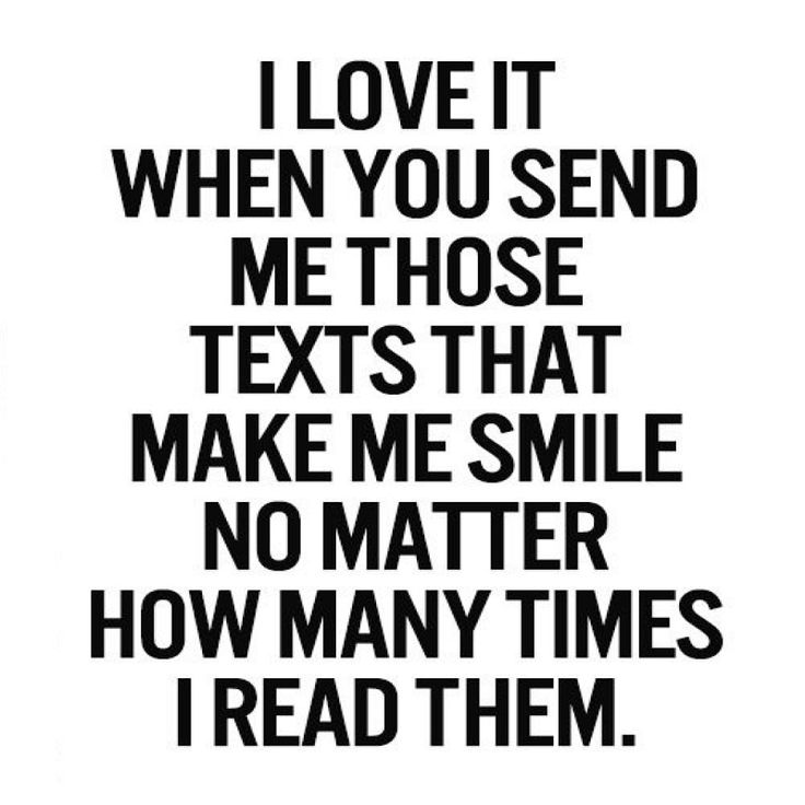 No matter how many times I read your texts