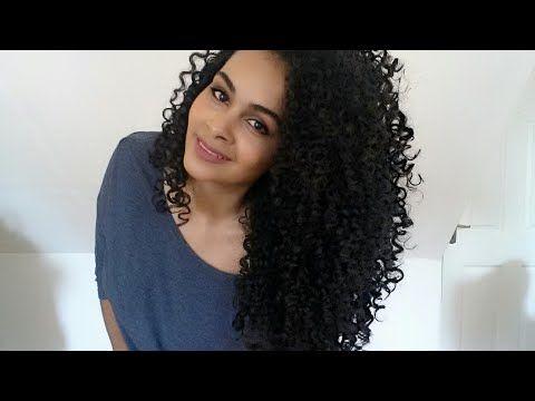 Corte em camadas para cabelo cacheado sem tirar comprimento - YouTube