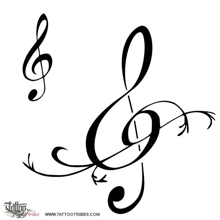 permalink: http://www.tattootribes.com/index.php?idinfo=859. Treble clef