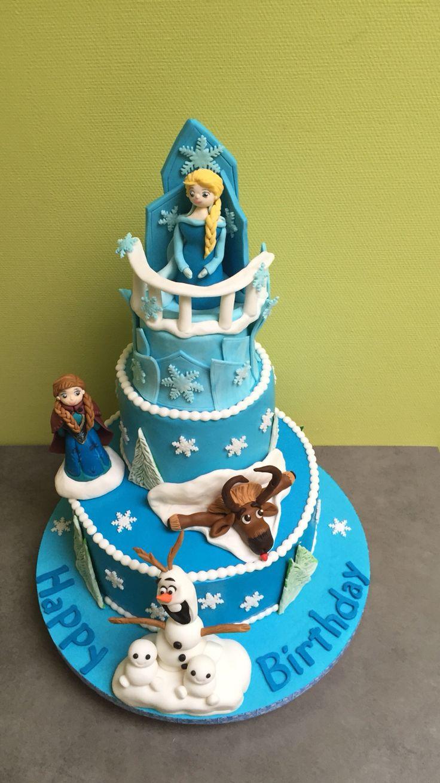 Frozen verjaardagstaart