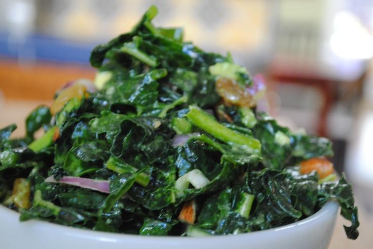 Massaged Kale Salad: Kale Salad