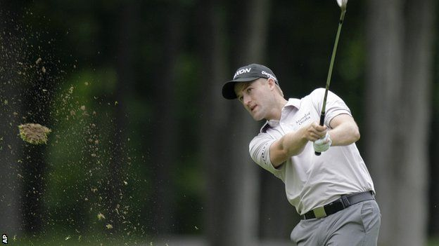 Russell Knox on day one at Muirfield Village
