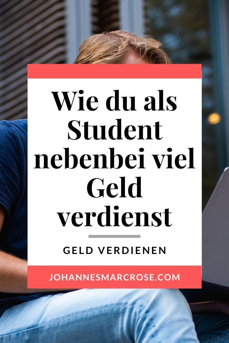 geld von zuhause verdienen student