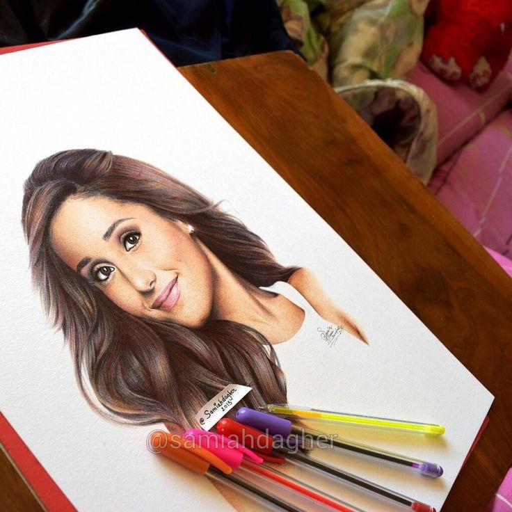 Ariana Grande by samiahdagher on DeviantArt