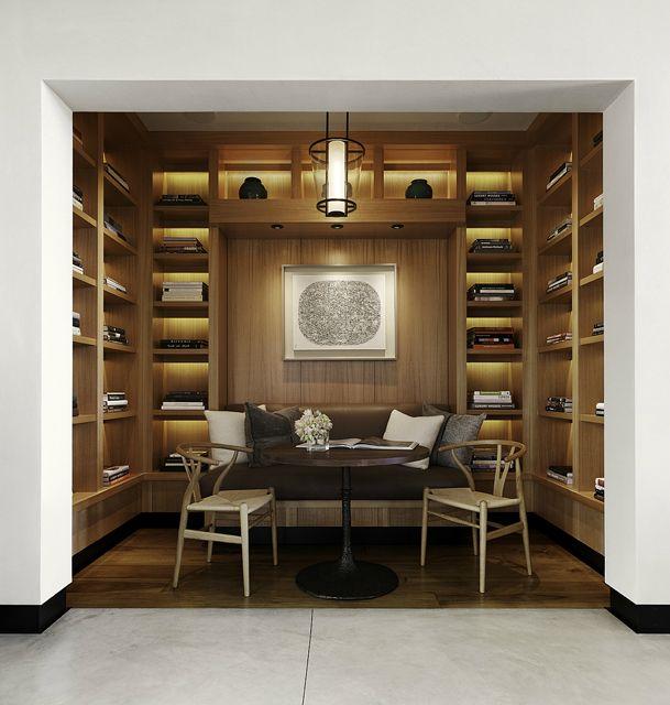 Private Residence Saint Helena, Library, Nicole Hollis | Remodelista Architect / Designer Directory
