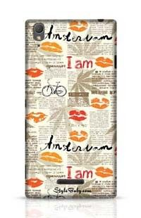 Imitation Of Newspaper Amsterdam Sony Xperia T3 Phone Case