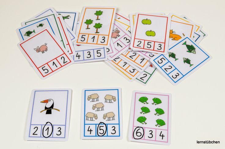 Lernstübchen: Mengen und Zahlen....