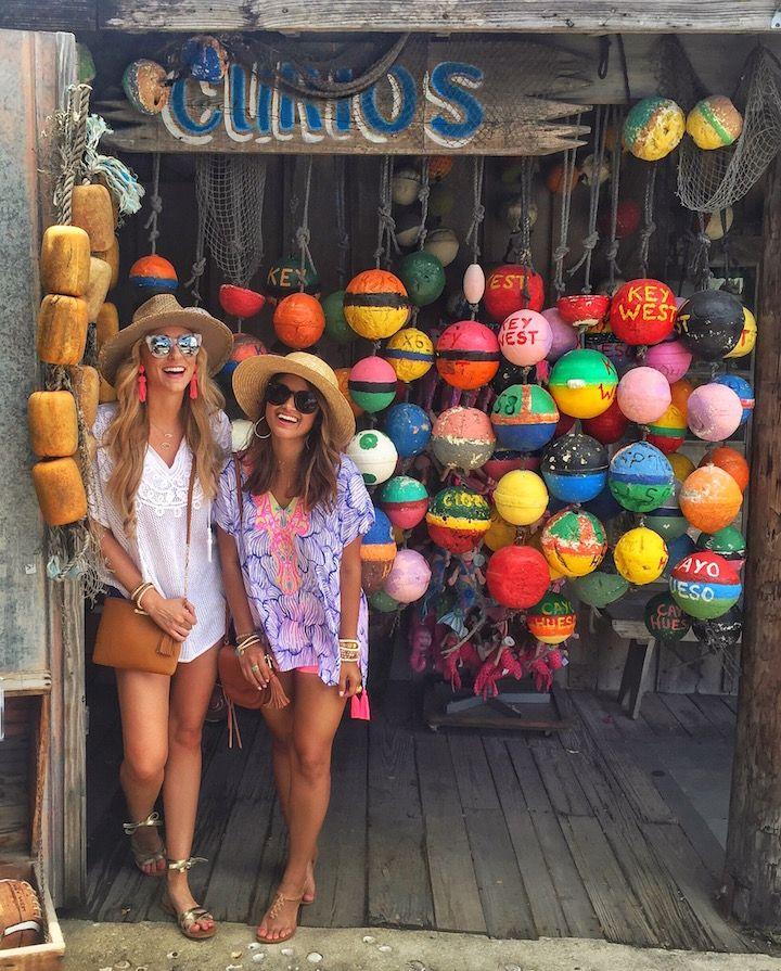 haute off the rack, key west travel review, vacation spots, women's fashion, summer style, sydney caftan, walsh shorts, lilly pulitzer, rebecca minkoff mini suki, women's handbag, ipanema flip flops, boater hat, gold sandals