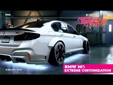 Need For Speed: Payback | Customizing the Extreme BMW M5 Drift Racer | X...