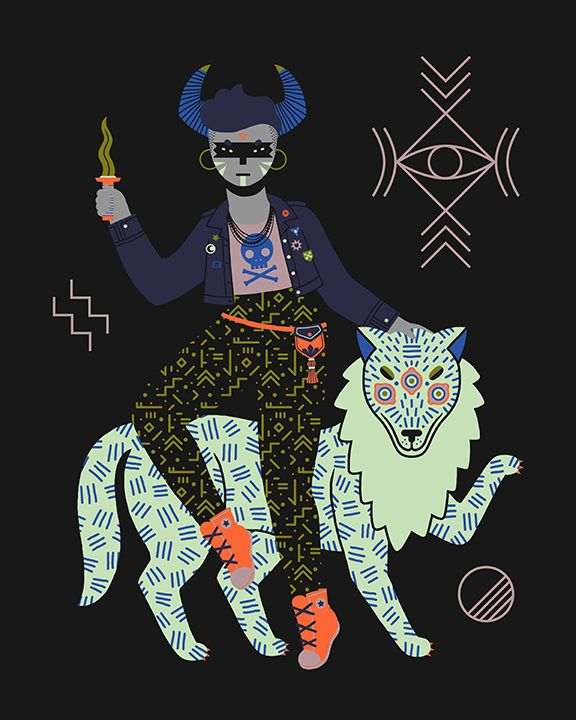 Juxtapoz Magazine - Camille Chew's Witches