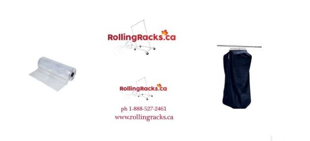 Garment Bags, Cover and Much More - http://www.rollingracks.ca/store/c4/Garment_Bags.html