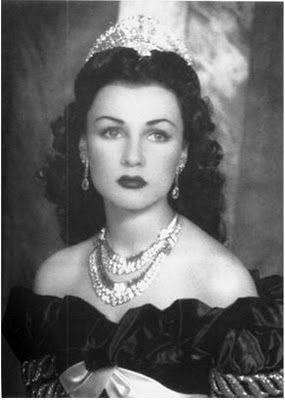 Fawzia Fuad, Empress of Iran. Daughter of King Fouad I of Egypt, sister to King Farouk I of Egypt and first wife to Shah Mohammad Reza Pahlavi of Iran.