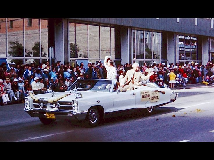 1977 Stampede-Mayor Rod Sykes-John Diefenbaker