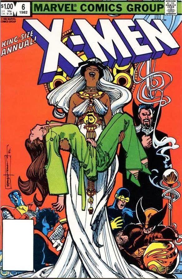 Uncanny X-Men Annual n°8 by Bill Sienkiwicz (1982)