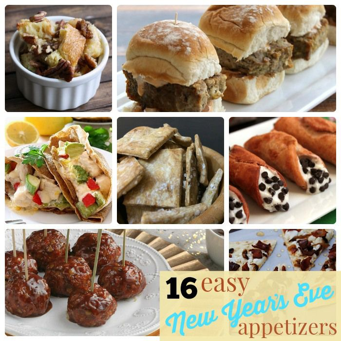 16 easy new years eve appetizers