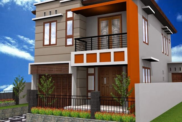 model desain rumah minimalis sederhana type 36 2 lantai