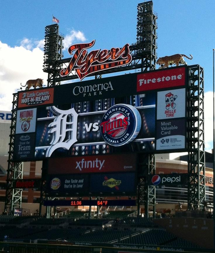 Comerica Park Detroit Michigan: 166 Best Detroit Tigers Images On Pinterest