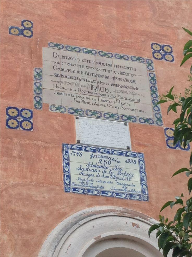 Santuario donde el cura Hidalgo tomo el estandarte que sería el bastión de la lucha por la independencia de México. Atotonilco, Guanajuato, México