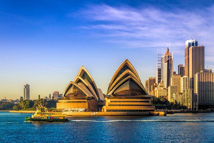 シドニーといえば、定番のオペラハウス 近代美術と大自然に恵まれた都市、オーストラリア・シドニー