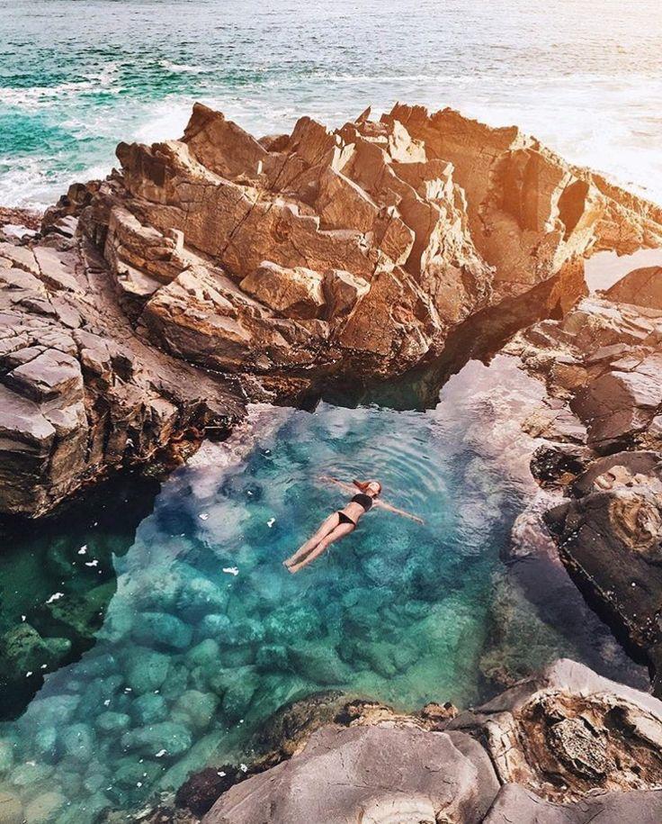 The Fairy Pools, Noosa, Queensland...