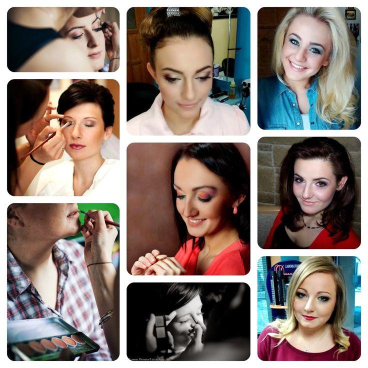 Rozeta handmade: Makijaż, make-up Podhale, make-up zakopane, wizaż, visage, Ewa Stopka