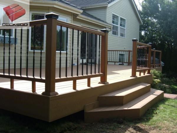 26 best images about decks on pinterest for Box steps deck