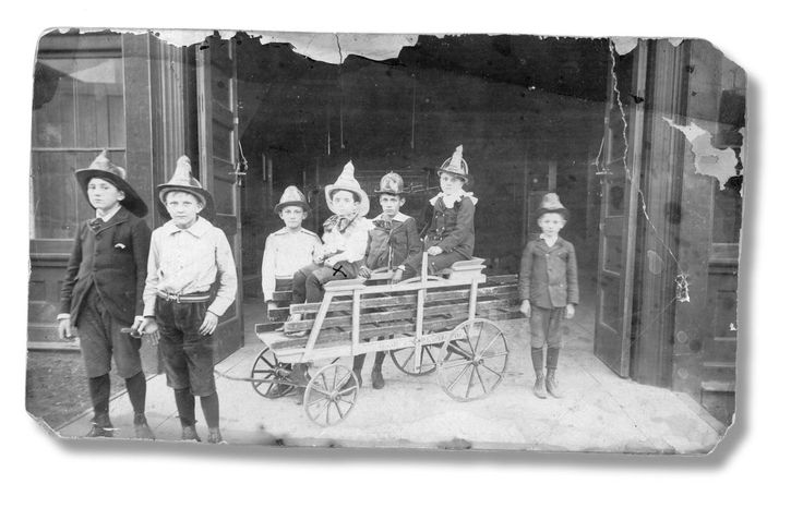 The History Of The Kansas City Fire Department | KCUR employed boys to look for sparks