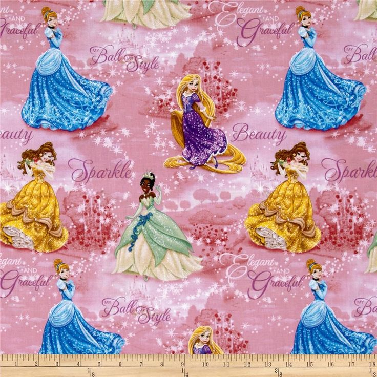 Disney Princesses Royal Debut Scenic Pink from @fabricdotcom  Designed for Springs Creative Products Group, this cotton print fabric is perfect for quilting, crafts, apparel and home décor accents. Colors include gold, green, blue, lavender, white and pink. This is a licensed fabric and not for commercial use.<P><P>Due to licensing restrictions, this item can only be shipped to USA, Puerto Rico, and Canada.