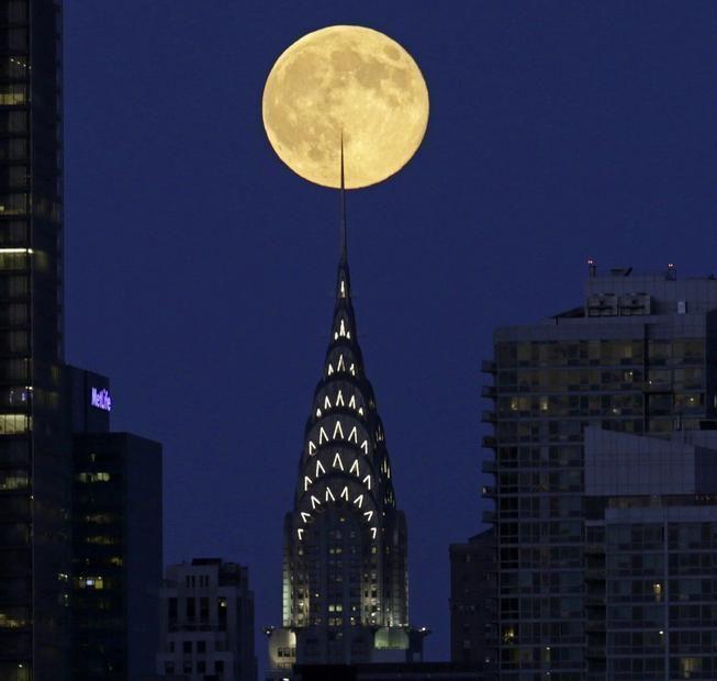 La Super Luna a New York