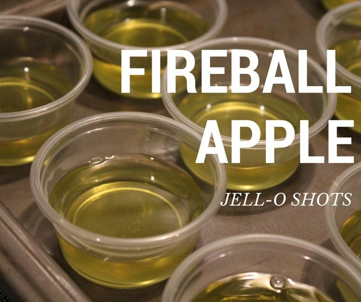 Looking for something fun for Celebrating?! - Fireball Jello shots! Apple flavor | Arrows & Awe