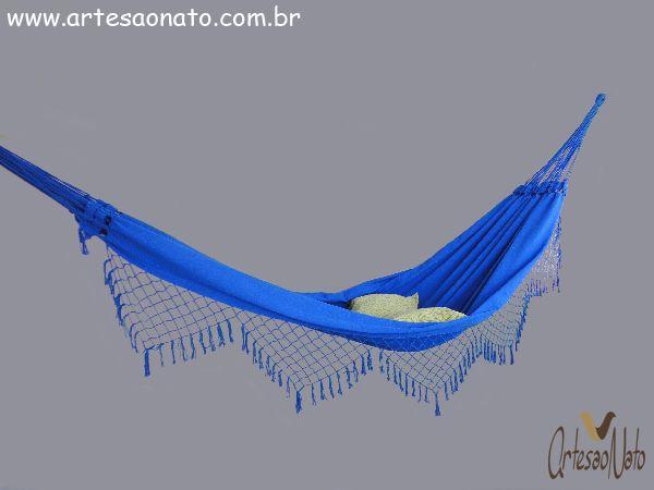 Rede de Dormir Siesta Azul Royal