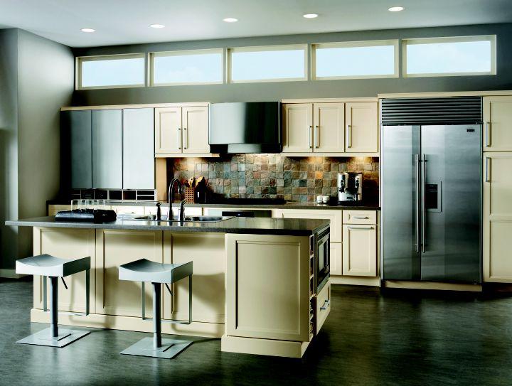 Transitional Kitchen From Kraftmaid Fallidays Kitchen
