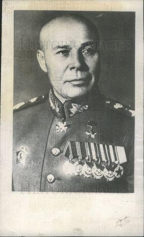 1948 Press Photo Marshall Semyon K Timoshenko Red Army - Historic Images