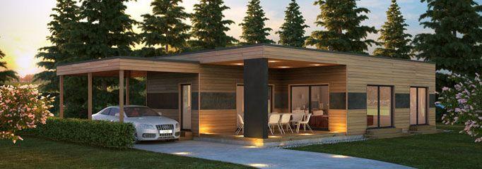 maison bois contemporaine C71