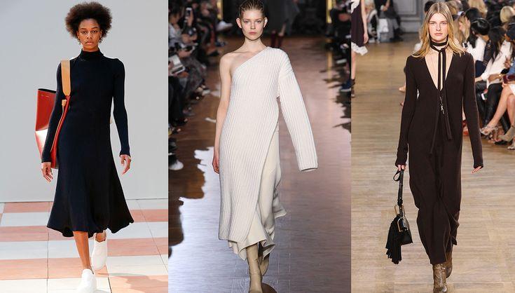 Tendance robes en maille, défilés Céline, Stella McCartney et Chloé