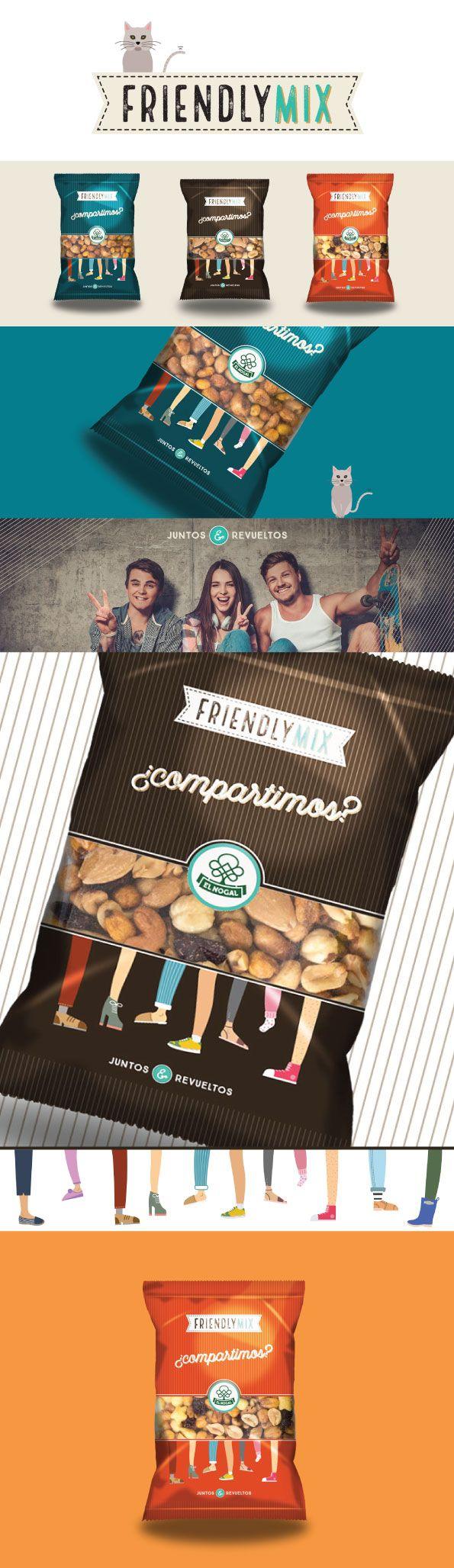 FriendlyMix El Nogal by Koolbrand #design #packaging #nut #cocktail #Nuts #Koolbrand