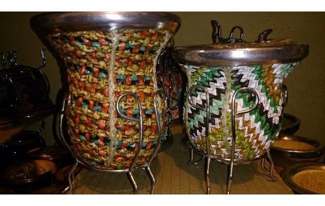 Mates artesanales del Norte Argentino en http://www.alamaula.com/q/mate+bombilla/S1G1